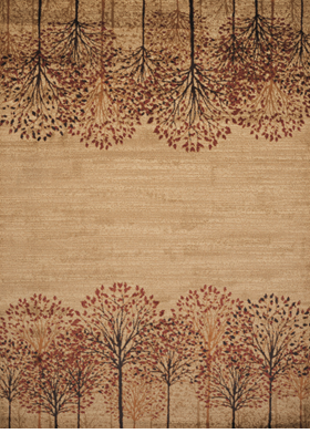 United Weavers 750-05817 Tree Blossom Natural