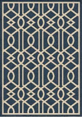 Orian Rugs Barcelona 1842 Blue