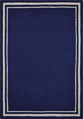 Home Dynamix Border Navy Blue