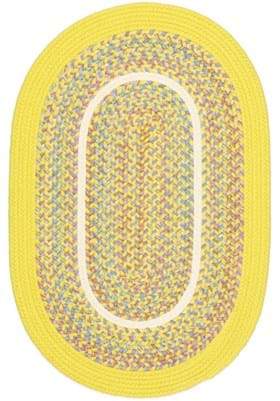 Rhody Rug KI-14 Yellow Banded
