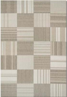 Couristan 5038 Patchwork 6031 Beige Ivory