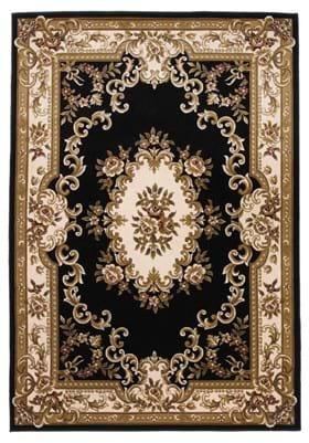 KAS Aubusson 5310 Black Ivory