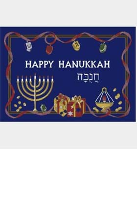 Milliken Holiday Rugs 4533 Hanukkah 14