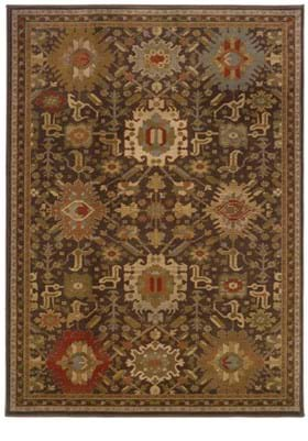 Oriental Weavers 4444A Brown
