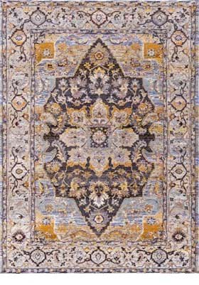 Dynamic Rugs 5342 579 Blue Tan Multi