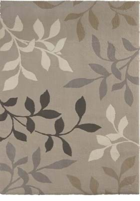 Orian Rugs Falling Leaves 2420 Beige