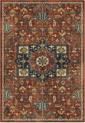 Orian Rugs 4508 Serapi Red