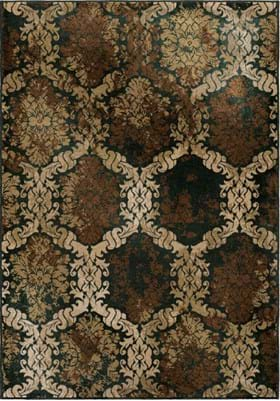 Orian Rugs Oxfordburst 3218 Brown