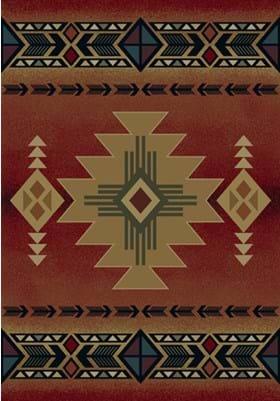 United Weavers 530-29236 Arizona Crimson