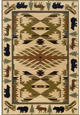 Oriental Weavers 1072A Tan