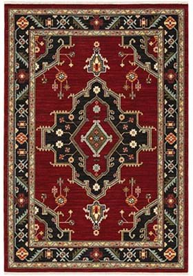 Oriental Weavers 92R Red
