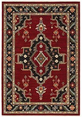 Oriental Weavers 92R Red