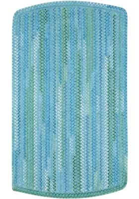 Capel Waterway Blue Tailored Rectangle