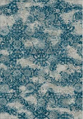 Dynamic Rugs 89536 8959 Blue Grey