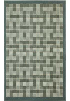 American Rug Craftsmen Checkered Past 6986 Green Millieu Almond 16657