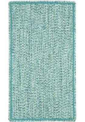 Capel Sea Pottery Blue Vertical Stripe Rectangle