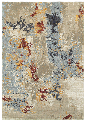 Oriental Weavers 8043K Beige Blue