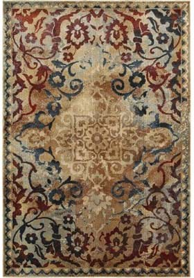Oriental Weavers 21J Gold Red