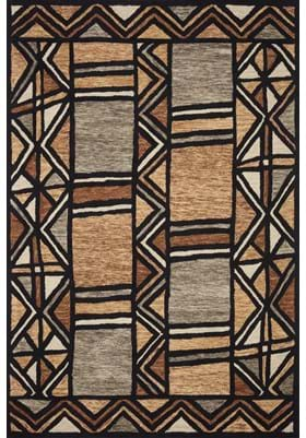 Loloi Rugs NAL-07 Walnut Multi