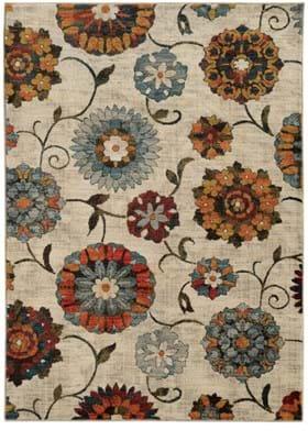 Oriental Weavers 6361A Ivory Multi