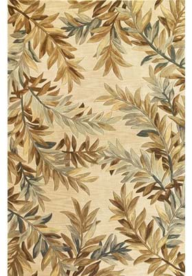 KAS Tropical Branches 3126 Ivory