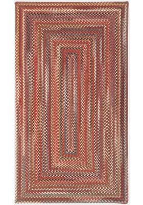 Capel Portland Red Concentric Rectangle