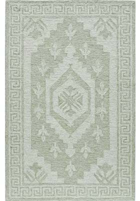 Rugs America 6145A Winter Green