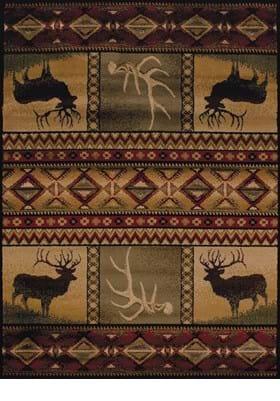 United Weavers 750-03843 Hunters Dream Lodge