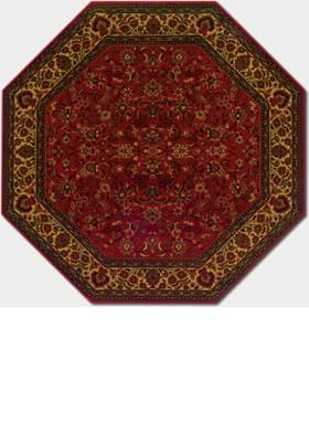 Couristan 3791 Isfahan 4872 Crimson