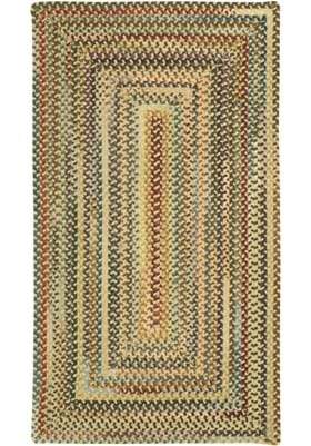 Capel Eaton Dark Beige Concentric Rectangl