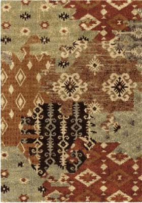 Orian Rugs Kilim Patches 4320 Multi