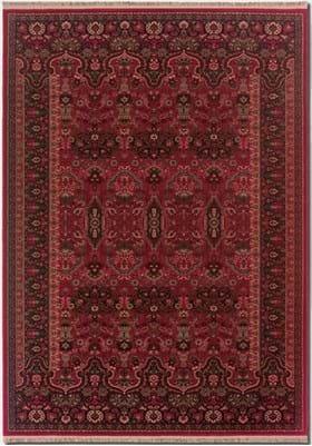 Couristan 7686 Kerman Vase 1893 Brick Red