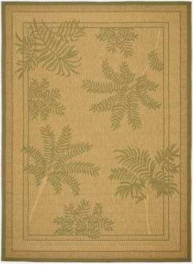 Safavieh CY6683-34 Natural Green
