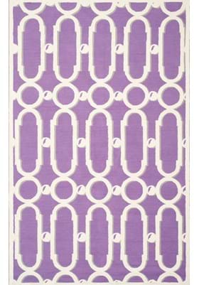 Safavieh NPT434B Purple White