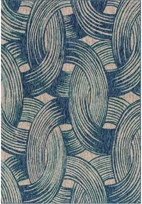 Loloi Rugs NP-01 Blue Teal
