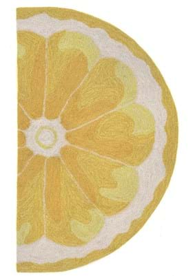 Trans Ocean Lemon Slice 155609 Yellow