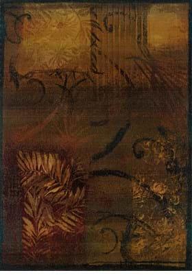 Oriental Weavers 1163B Brown Gold