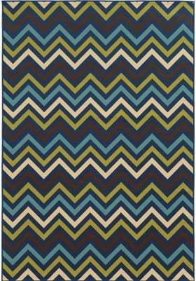 Oriental Weavers 4593S Blue Green