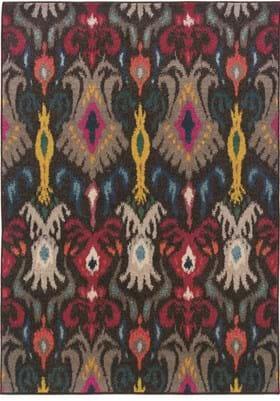 Oriental Weavers 502X Charcoal Multi