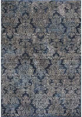 KAS Damask 8611 Slate Blue