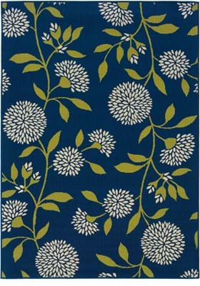 Oriental Weavers 8327L Blue Green