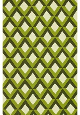 Loloi Rugs VB-12 Green Trellis