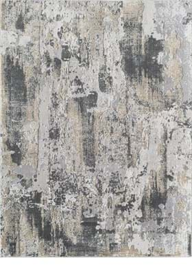 Rugs America AD40 B White Gold
