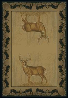 United Weavers 134-47317 Believe Deer Natural