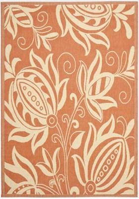Safavieh CY2961 3202 Terracotta Natural