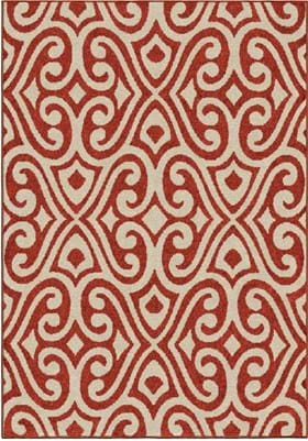 Orian Rugs Santee 2355 Red