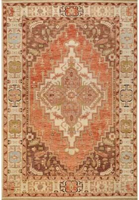 Surya ZEU-7800 Rust Cream Brown