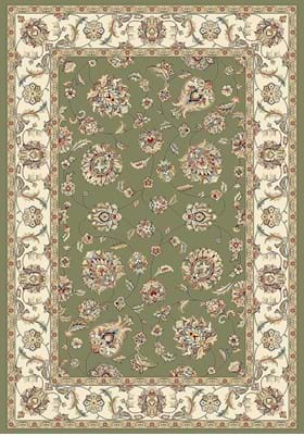 Dynamic Rugs 57365 4464 Green Ivory