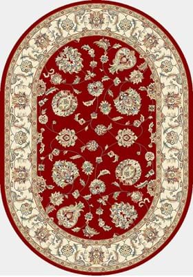 Dynamic Rugs 57365 1464 Red Ivory