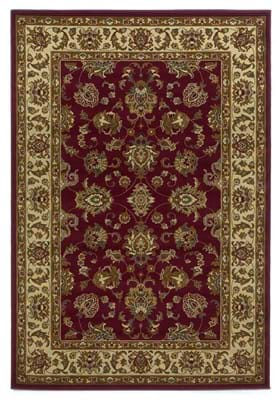 KAS Kashan 5431 Red Ivory